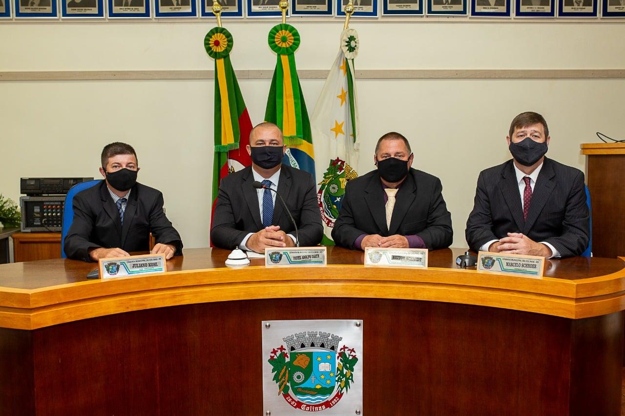 Vereador Fabiel é eleito Presidente da Câmara de Vereadores de Colinas