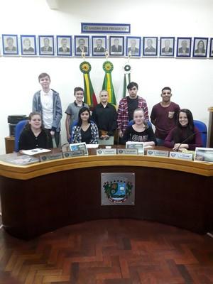 Parlamentares Estudantis da legislatura 2018 tomam posse em solenidade